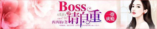 一宠成瘾:boss请自重